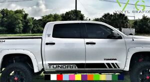 Toyota Tundra Vinyl Decal Sticker Graphics TRD Sport Side Door x2 ANY COLOR 012