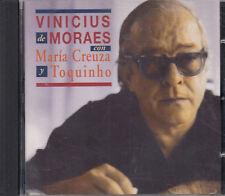 Vinicius De Moraes Con Maria Creuza Y Toquinho 1 CD Spanish Folk World FASTPOST