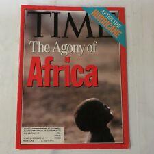 Time Magazine Vintage Issue September 7 1992 Agony Africa Hurricane Andrew NN1