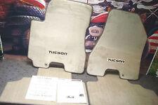 FLOOR MATS Set Of 4 Plush OEM Carpet Premium IVORY Fits Hyundia TUCSON 05-06 Y1