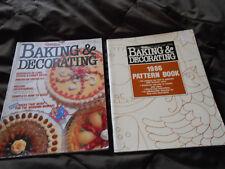 VINTAGE~1986 WILTON CAKE DECORATING YEARBOOK MAGAZINE & PATTERN BOOK~