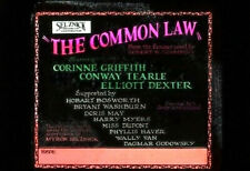 THE COMMON LAW Rare 1923 Silent Film SELZNICK Movie CORINNE GRIFFITH Glass Slide