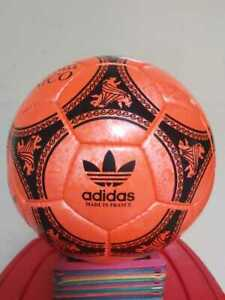 New Adidas Official Match-Ball of FIFA World Cup 1990 Leather Football Size 5.
