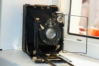 OLD RARE GOMZ Photokor (Fotokor) USSR Folding Camera Medium Format w/s lens EXC