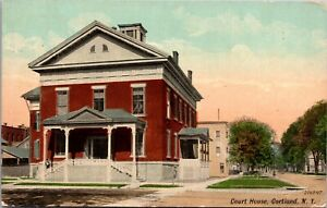 Postcard Courthouse in Cortland, New York~134886