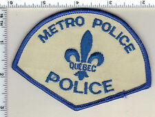 Metro Police (Canada) Shoulder Patch from 1990