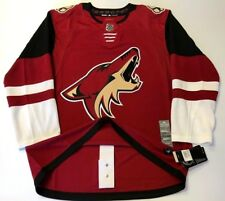 ARIZONA COYOTES size 56 = sz XXL - ADIDAS NHL HOCKEY JERSEY Climalite Authentic