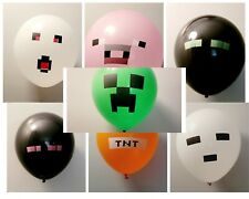 Qty of 14 Assorted Lot of Gamer Inspired Children's Party Balloons