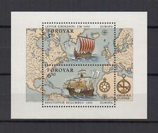 îles Féroé EUROPA 1992 un feuillet neuf /T722