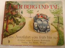 20101 KDF Käfer Über Berg und Tal Scholz 1946 Bilderbuch Emma Hübner Picturebook