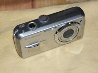 Panasonic LUMIX DMC-LS2 5.0 MP - Digital Camara - Plateado