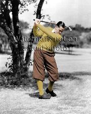 **UNIQUE** Bobby Jones COLORIZED 1930's golf photograph