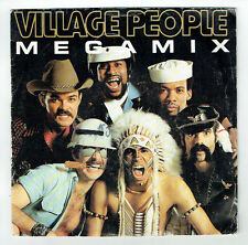 "VILLAGE PEOPLE Vinyl 45T SP 7"" MEGAMIX Medley - Y M C A - TOUCH OF GOLD 874212"