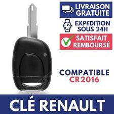 Boitier Clef Coque Plip Télécommande RENAULT Twingo Clio Espace Scenic ➜1 Bouton