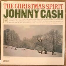 Johnny Cash- The Christmas Spirit - Import CD - Mini Album Format- Brand New