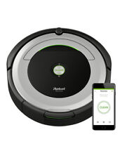 iRobot Roomba 690 Vacuum Cleaning Robot Pets Allergies Dirt Dust Hair Sweep Rugs