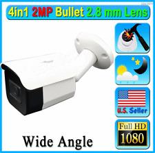 4in1 HD 2MP 1080P 2.8mm TVI AHD CVI Analog CCTV Night Lens Bullet Camera