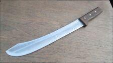 HUGE Vintage Dexter HG Carbon Steel Chef's Butcher Breaking Knife - RAZOR SHARP