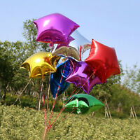 Lot 5/10pcs Five-pointed Star Helium Foil Balloon Wedding Birthday Party Decor