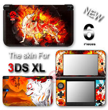 Okami Amaterasu Wolf VINYL SKIN STICKER DECAL COVER for Nintendo 3DS XL