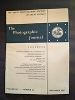 NOV 1967 THE PHOTOGRAPHIC JOURNAL (ROYAL PHOTOGRAPHIC SOCIETY OF GREAT BRITAIN)