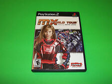 SONY PS2 PLAYSTATION 2 MX WORLD TOUR MOTOCROSS SUPERCROSS RACING VIDEO GAME