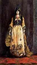 Georges Clairin Costume Pour Une Fete Orientale A4 Print