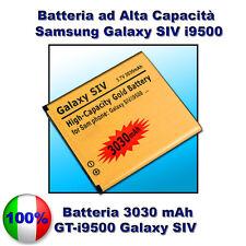 Batteria Gold POTENZIATA 3030mAH SAMSUNG S4 i9500 - Più autonomia dell'originale