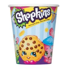 Shopkins 8 Paper 9 oz Hot Cold Cups Birthday Party