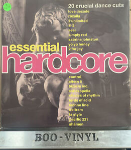 Essential- hardcore -DINTV 33 vinyl LP-uk classic club dance hits EX / EX