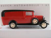 Busch 47732 Ford Model AA (1931) in rot/schwarz 1:87/H0 NEU/OVP