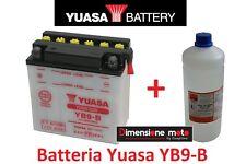 Batteria YUASA YB9-B 12V 9Ah + Acido per Piaggio Vespa PX 150 E dal 1998