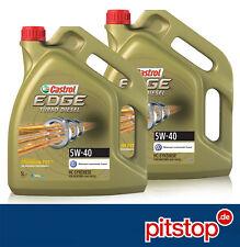 2x 5L = 10 Liter ORIGINAL CASTROL EDGE TITANIUM FST Turbo Diesel 5W-40 VW 505 00