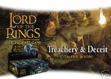 LOTR CCG TCG Treachery & Deceit Complete 140 card Set