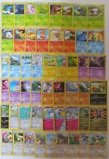 Complete XY STEAM SIEGE 52 Common/Uncommon Character Pokemon Cards Set