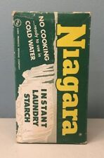 Vintage Corn Products Co. Niagara Instant Laundry Starch Advertising Box