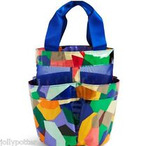 VERA BRADLEY Shower Caddy POP ART Beach Pool Bag Gym Dorm Tote LAMINATED $34 NEW