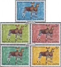 zaïre zaïrois 505-509 (complète edition) neuf avec gomme originale 1975 Virunga-