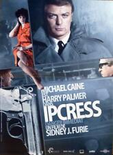THE IPCRESS FILE - CAINE / FURIE - REISSUE SMALL FRENCH MOVIE POSTER