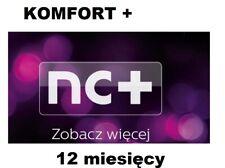 KOMFORT+ 12. Telewizja na Karte, NC+, Aufladung, Doładowanie, TVN, TnK,Zasilenie