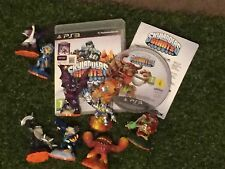 SKYLANDERS GIANTS PS3 GAME +'OVER' 6 FIGURE BUNDLE LOT TERRAFIN ERUPTOR IGNITOR+