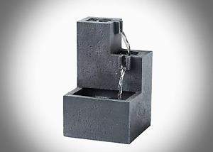 "Tabletop Water Fountain Indoor Waterfall Rainfall Sound Relax Sleep 11"" ASMR New"