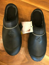 Muck Women's Muckster ll Clog Black/Gray Plaid Size 11 WMC-1PLD