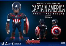 Avengers Age of Ultron Artist Mix Bobble-Head Captain America