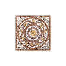 Rosoni rosone mosaico in marmo su rete per interni esterni 66x66 ALFA