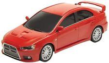 WELLY DISPLAY MITSUBISHI LANCER EVOLUTION X DIECAST CAR RED 43655D