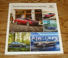 Original 2018 Honda Hybrid & Electric Vehicles Sales Brochure 18 Clarity Accord