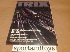 TRIX CATALOGO 82/83 PAGINE 103 IN LINGUA TEDESCA.