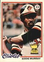 1978 O-Pee-Chee Baltimore Orioles Baseball Card #154 Eddie Murray RC! - NM