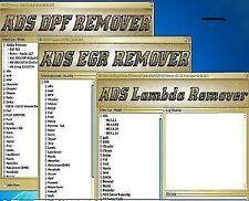 2019 Professional DPF EGR Lambda Adblue Flap DTC remover 05.2017 FULL Pack